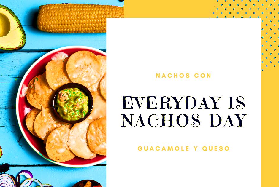 Nachos i Guacamole